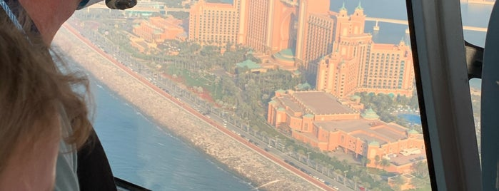 Helicopter Landing Area Of Atlantis is one of Best places in Dubai, United Arab Emirates.