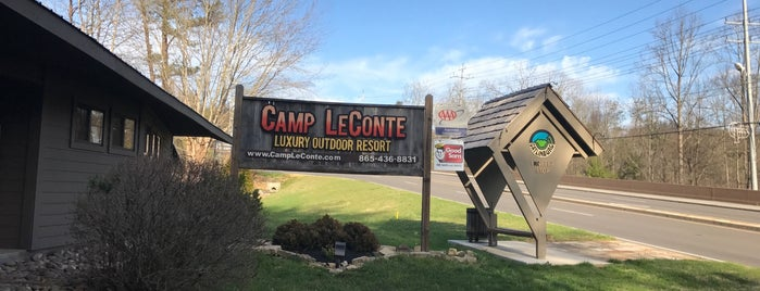 Camp LeConte Outdoor Resort is one of Camping - TN.