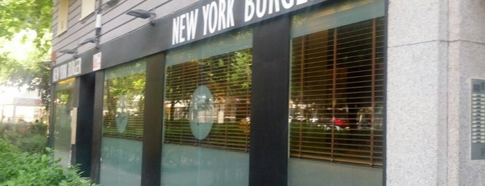 New York Burger is one of Restaurantes Madrid.
