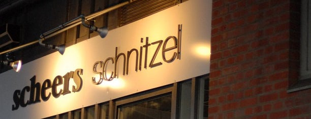 Scheers Schnitzel is one of Berlin.