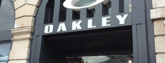 Oakley Europe is one of London stores.