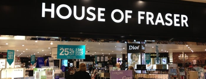 House of Fraser is one of Tempat yang Disukai Carl.
