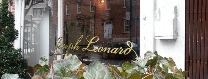 Joseph Leonard is one of NYC food.