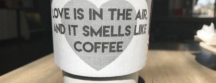 Hero Coffee Bar is one of Coffee Tea and Sympathy.