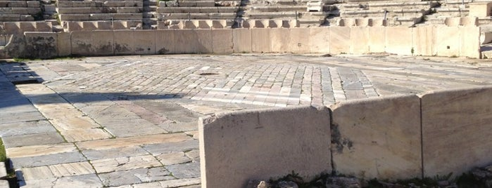 Theatre of Dionysus Eleuthereus is one of Athens: Main Sights.