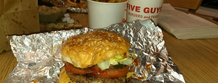 Five Guys is one of Burger Joints.