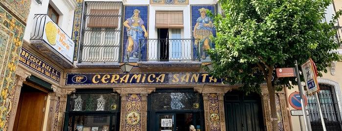 Cerámica Santa Ana is one of Sevilla.
