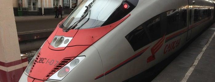 Поезд № 757 «Сапсан» Санкт-Петербург — Москва is one of на всякий случай.
