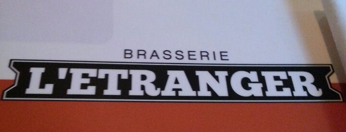 Brasserie L'Étranger is one of Locais curtidos por Chris.