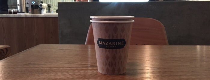 Mazarine Coffee is one of The San Franciscans: Cafés.
