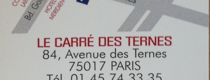 Le Carré des Ternes is one of Locais curtidos por Brian.