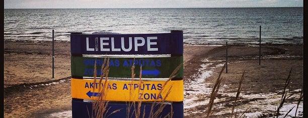 Lielupes pludmale is one of Lieux qui ont plu à Annette.