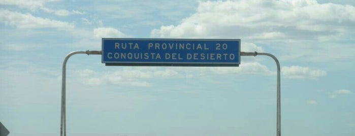 Ruta Conquistadores del Desierto is one of To edit.
