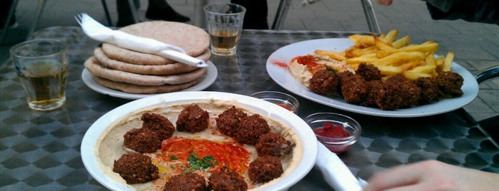 Hummus Bar is one of Favourites.