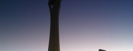 The STRAT Hotel, Casino and Skypod is one of USA Trip 2013 - The Desert.