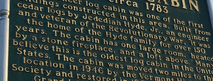 Hyde Log Cabin is one of Adirondacks and Vermont.
