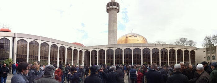 The London Central Mosque is one of Mosques when you're away.