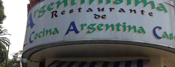 Argentinísima is one of Comer Rico en el DF.