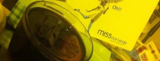 Miss Noruega Gastro Bar is one of Restaurantes que admiten cheques Gourmet.