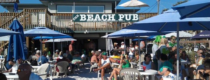 The Beach Pub is one of Island Bars.