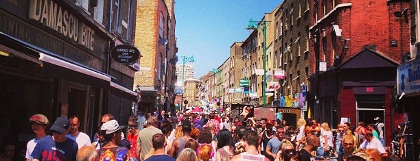 Brick Lane Market is one of Where to go in London.