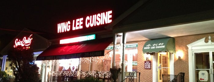 Wing Lee Cuisine is one of Posti salvati di Guiseppe.