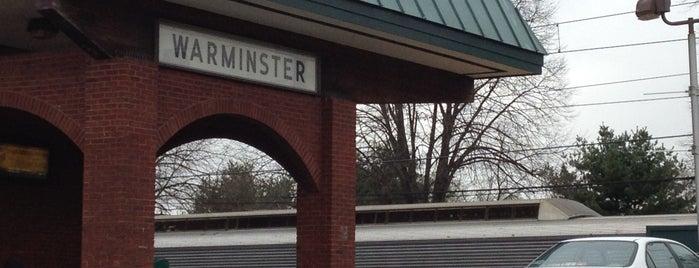 SEPTA Warminster Station is one of SEPTA Regional Rail.