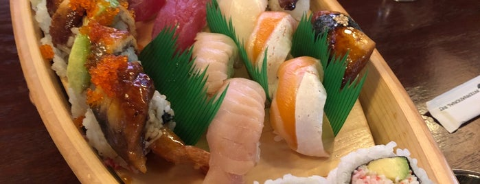 Oma Sushi is one of Nickさんのお気に入りスポット.