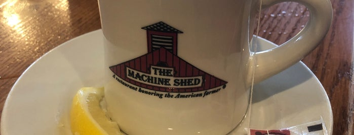 Iowa Machine Shed is one of Top 100 Restaurants.