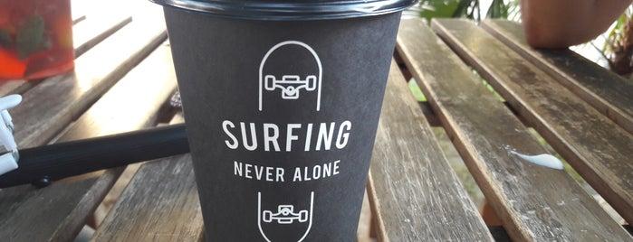 Surf Coffee is one of Locais curtidos por Katharina.