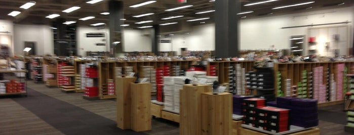 DSW Designer Shoe Warehouse is one of Most Pleasant, Mt. Pleasant.