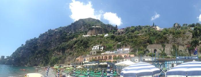 Spiaggia del Fornillo is one of Amalfi Coast.