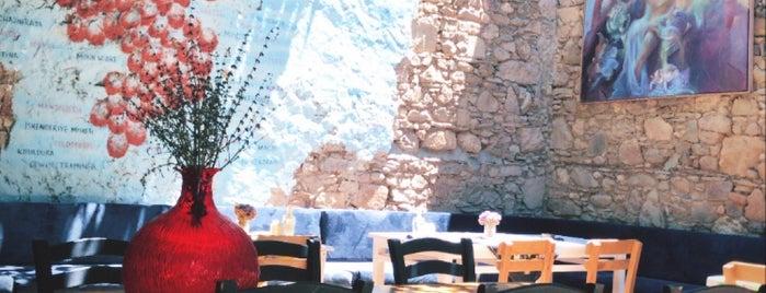 Madam Niça is one of Bozcaada.