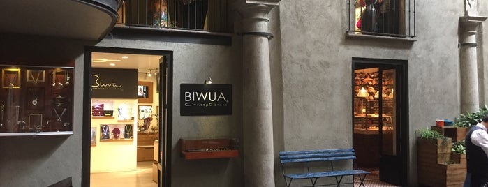 BIWUA Concept store is one of Mexico.