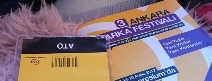 3. Ankara Marka Festivali is one of Irem'in Beğendiği Mekanlar.