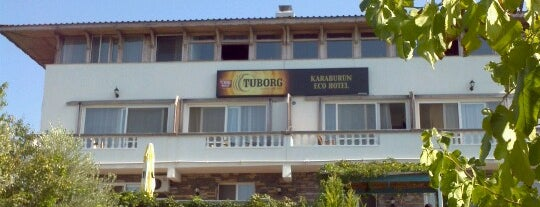 Karaburun Eco Hotel is one of Locais salvos de Banu.