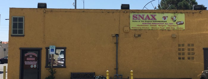 Snax Home of The Original Superburger is one of Redondo Beach.