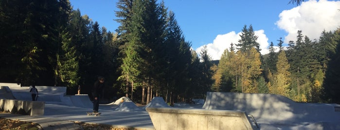 Whistler Skate Park is one of Extrim.
