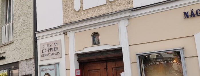 Geburtshaus des Physikers Christian Doppler is one of Around The World: Europe 4.