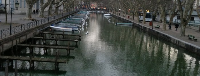 Pont des Amours is one of Anncey France.