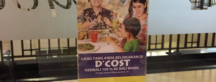 D'Cost is one of Foodism in Jakarta.