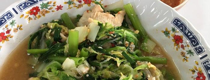 ลุงแว่น อาหารตามสั่ง is one of KKU food.