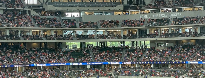グローブライフ・フィールド is one of MLB Ballparks.