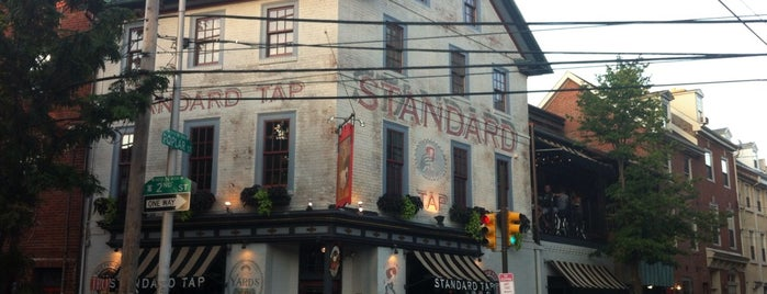Standard Tap is one of Philly Bars.