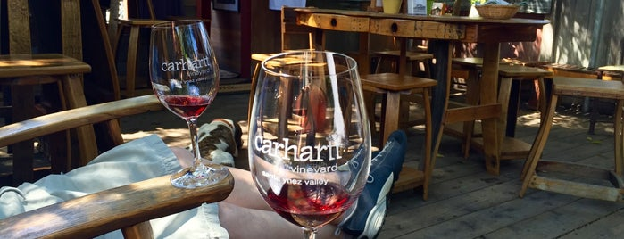 Carhartt Vineyard Tasting Room is one of Travel Guide to Santa Barbara.