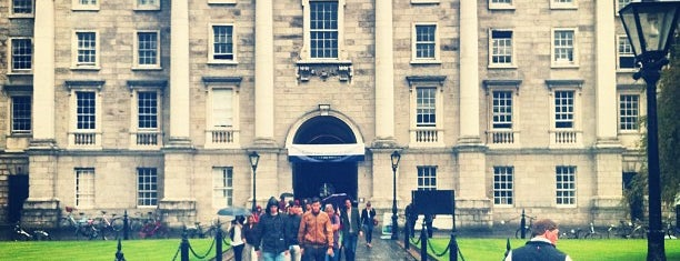 Trinity College is one of Never been.
