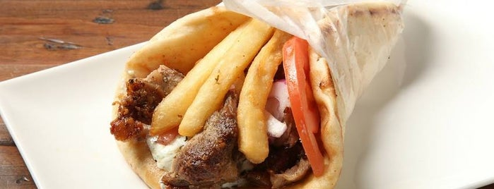 Pitas & Sticks Authentic Greek Grill is one of Locais curtidos por Adam.