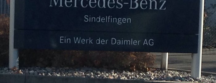 Mercedes-Benz Werk Sindelfingen is one of Lieux qui ont plu à Burkay.