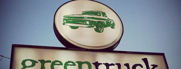 Green Truck Pub is one of Savnnah.