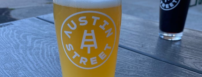 Austin Street Brewery is one of Vacationland 🦞.